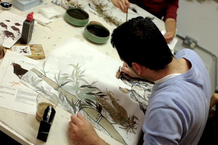 Chinese ink painting class London