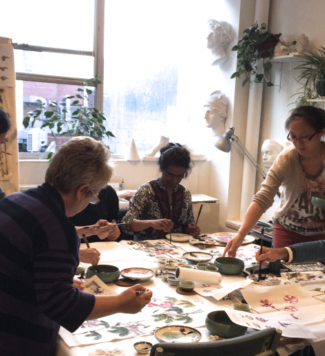 ... brush painting and calligraphy classes in London - Sunny Art Centre