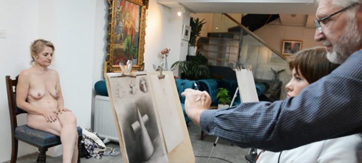Life Drawing Classes In London I Part Time Art Courses I Sunny Art
