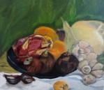 Dragon Fruit (framed)