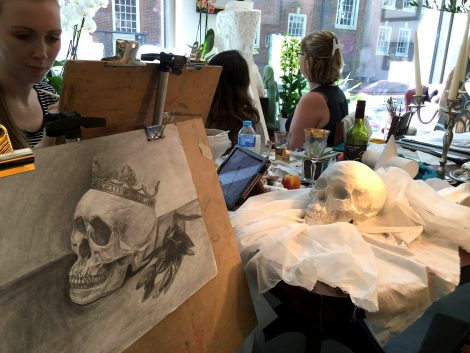 drawing class for beginner London