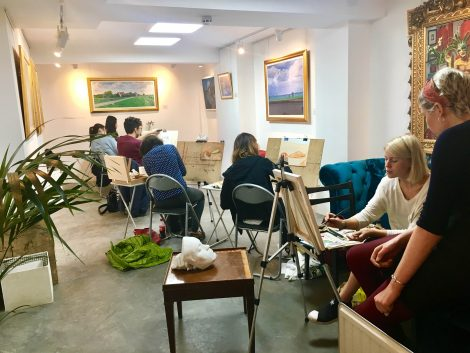 drawing-lesson-london