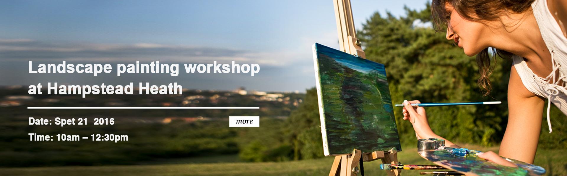 landscape painting workshop london
