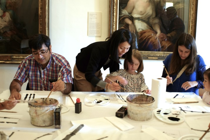 chinese painting and calligraphy workshop london