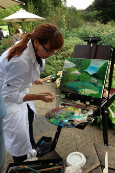 Landscape drawing/ painting workshop at Regent's Park on 23rd of August, Sunday, 2015