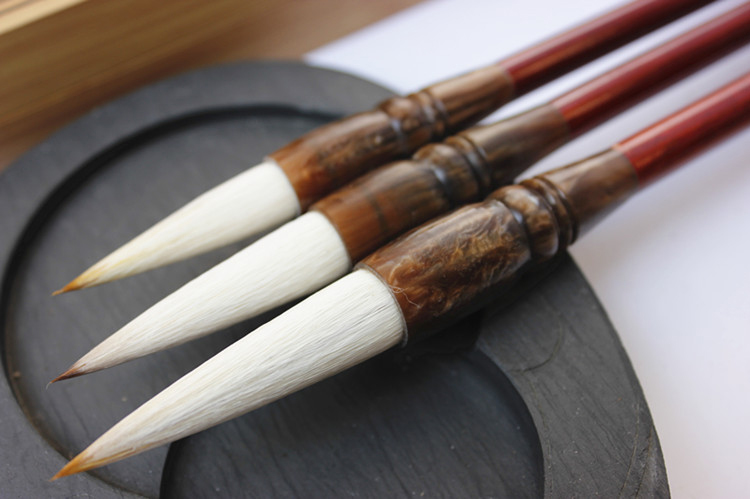 Chinese painting &calligraphy brushes - goat hair