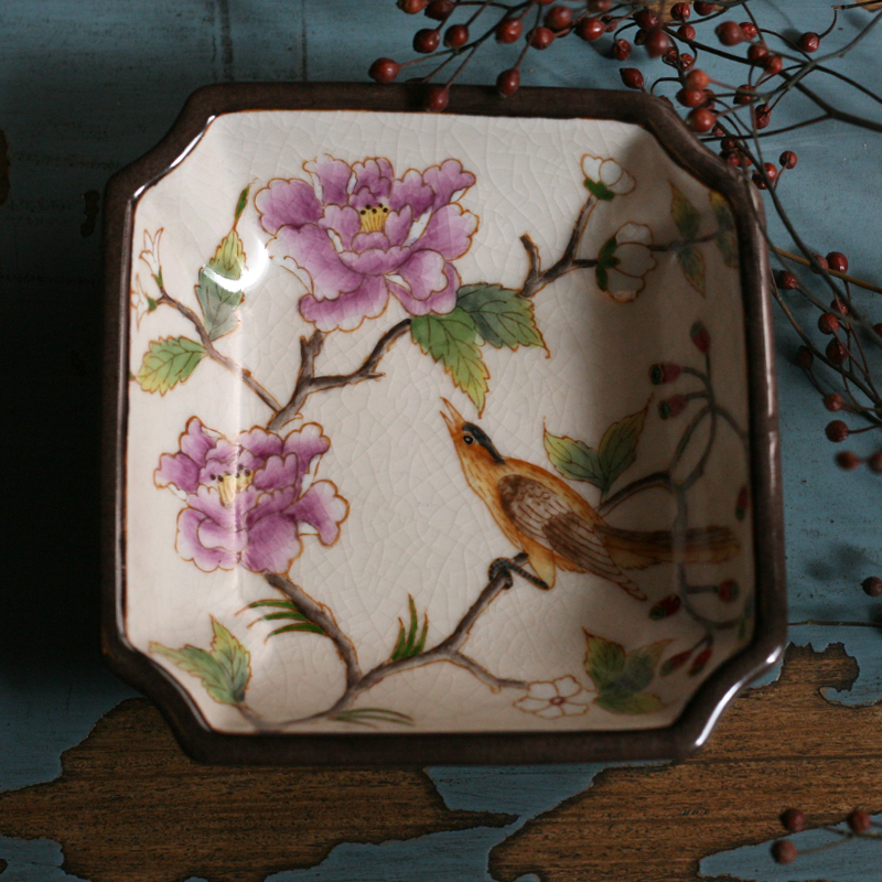 Hand Painted Porcelain plate 2