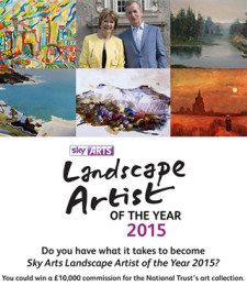 Sky Arts – Lanscape Artist of the Year 2015