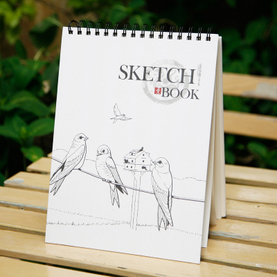 bird design cover sketchbook