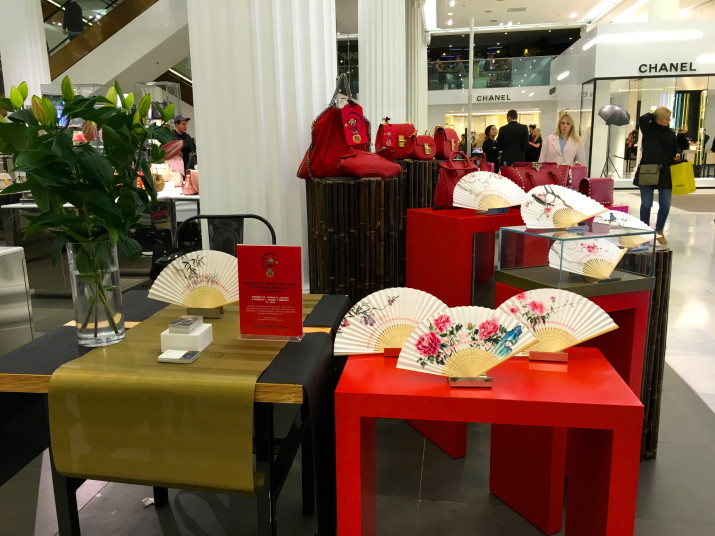 Selfridges Chinese New Year Event 2016 Chinese painting and Calligraphy artist Yinjie Sun.JPG.JPG.JPG.JPG