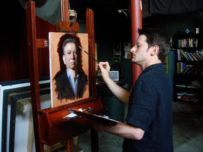 portrait artist commission london