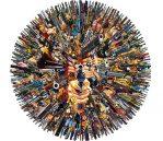Collage – Oddly Head – Hollywood PT I- Art lonodn