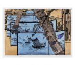 Boat, 2016 Chinese Watermark Woodcut Prints