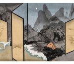 Moonlight,  Chinese Watermark Woodcut Print,  60 x 80cm, 1/5 Edition (Framed), 2016 £1,825 inc. VAT