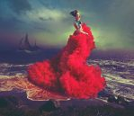 Scarlet Song, 2013, 64 x 74 cm  £2,607.00 inc. VAT