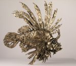Lion Fish, 2014, Bronze, 34 x 35 x 58 cm, Edition 12