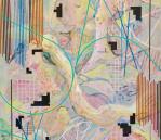 Keep That Rainbow on a Leash, 2017, acrylic on canvas, 60 x 80 cm, £2,880 inc. VAT