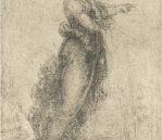 """A Woman in a Landscape, c.1517-18. Black chalk, 5.5"""" x 8.4"""". £168 inc. VAT"""