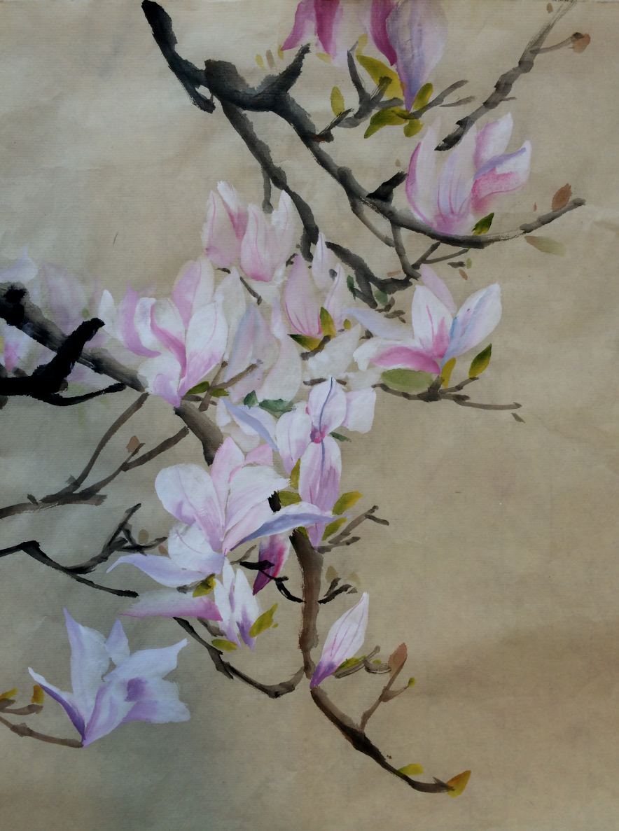 chinese painting london magnolia sunny art centre