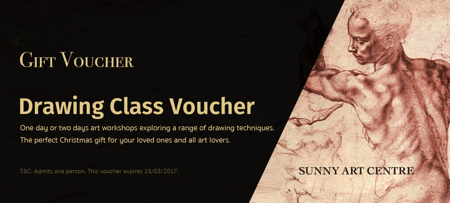 London drawing class voucher