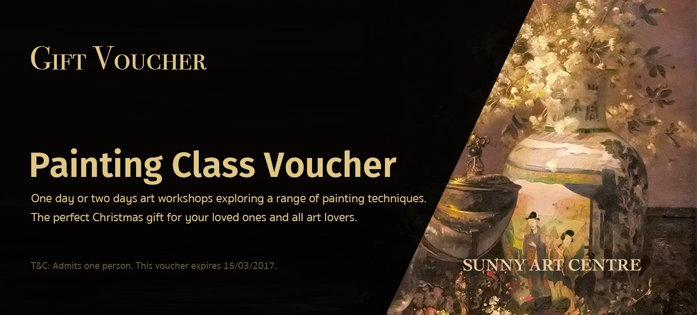 london art class gift voucher