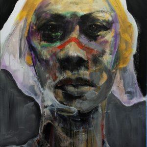 Britain 9, Acrylic on canvas, 121.9x91.4 cm, $6,000 Artist's price (ex. VAT)