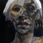 Laine 13, Acrylic on canvas, 203.2x152.4 cm, $14,000 (ex. VAT)