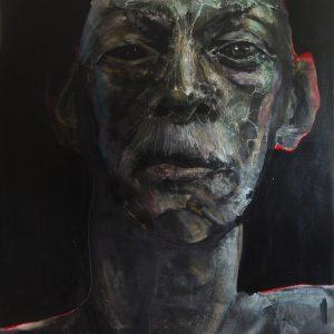 Willie 8, Acrylic on canvas, 203.2x152.4 cm, £9,840 (ex. VAT)