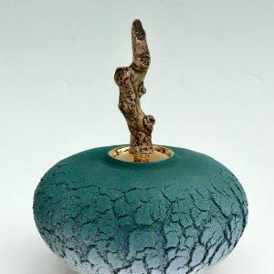 Blue Forest Pot 22H x 20ø cm £400 ex. VAT