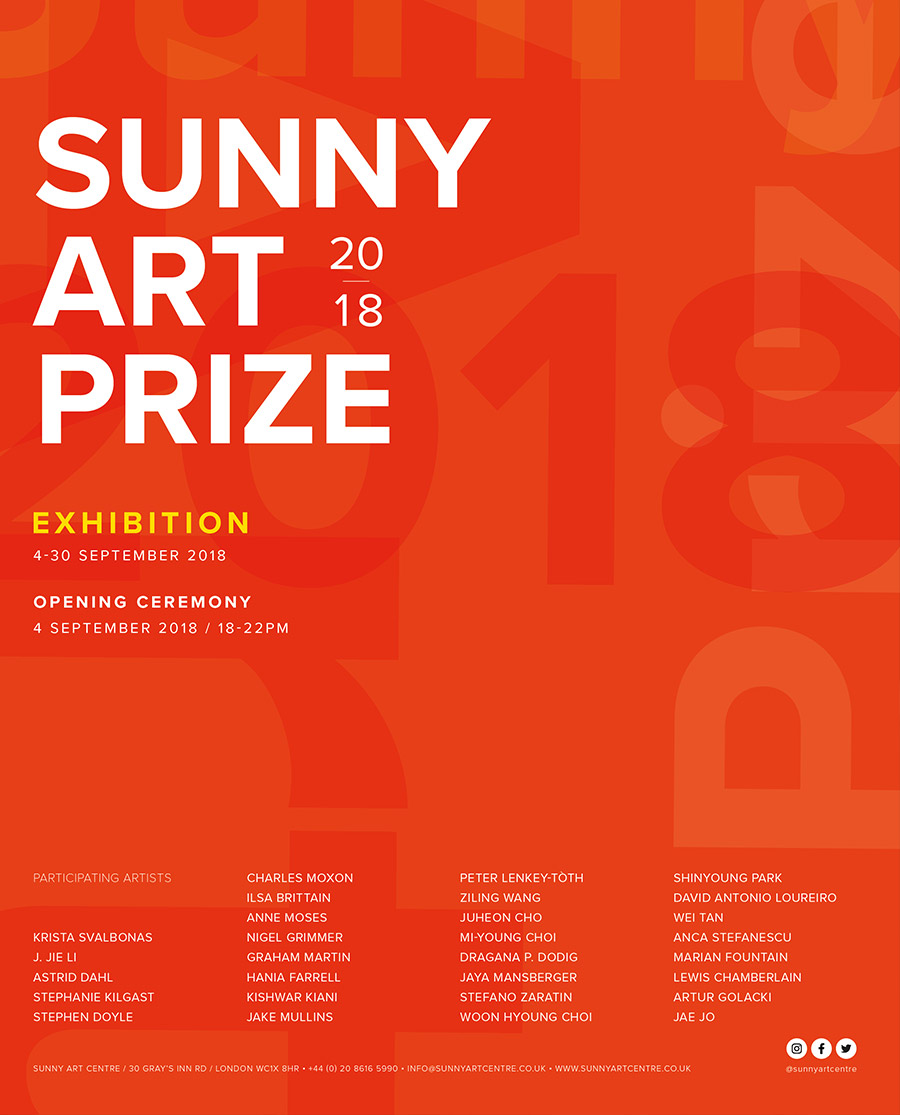 Sunny Art Prize Exhibition 2018 | London Art Award | Art