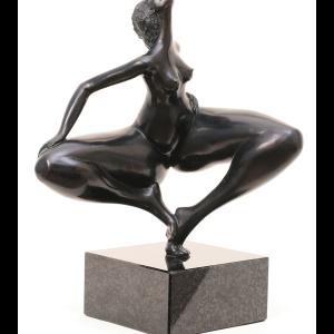 Naya, 19x24cm, Bronze (Black Patina), ed. 1/8
