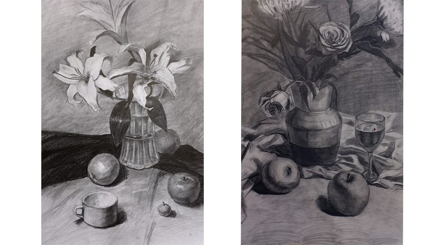 Art Lesson Still Life Drawing