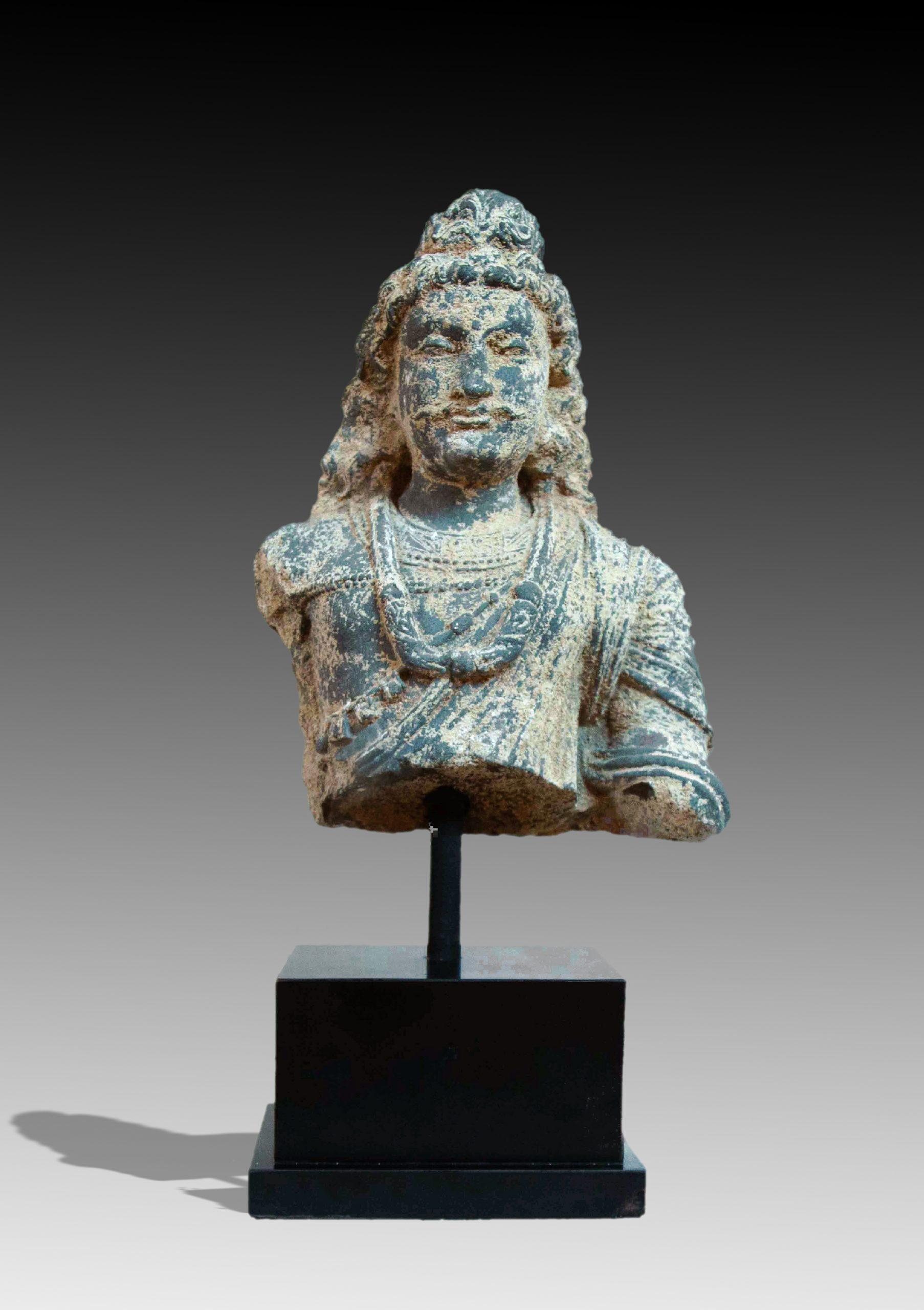 Bodhisattva Torso Gandhara Antiques Art Gallery Ancient Sculpture